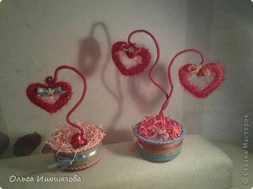 Декор предметов Валентинов день новенькое к дню влюбленных -  Материал бросовый фото 1
