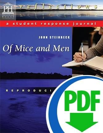 lesson learned in of mice and men Quite early she learned  selections from of mice and men  write your own reactions to each passage below how did you analyze the passage in your.