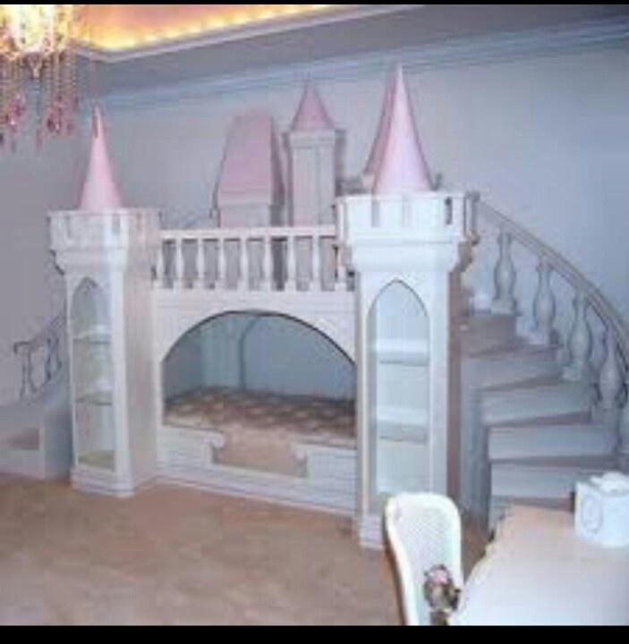 Diy Playhouse Loft Bed Via Ana White Cool Kid Bedroom