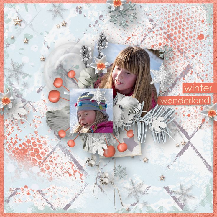 """Winter wonderland"" by ButterflyDsign,  https://www.digitalscrapbookingstudio.com/butterflydsign/, photo Pezibear, Pixabay"