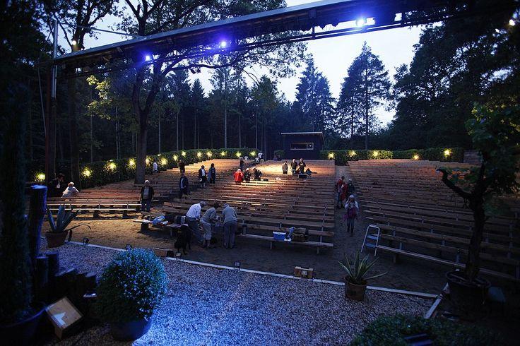 Prachtige theater, midden in het bos. Ook dit jaar weer genoten van Shakespeare: lang leve de liefde