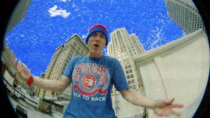 Detroit Pistons T Shirt Worn By Eminem In Berzerk By