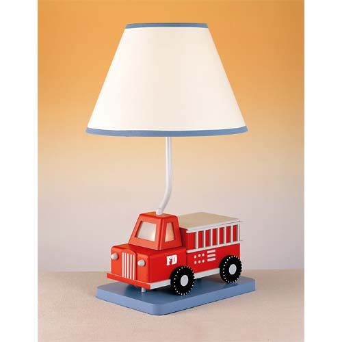 Lighting Shades And Firetruck