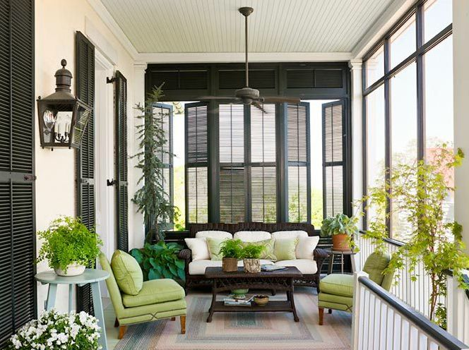 Shutters Porches And Louvered Shutters On Pinterest