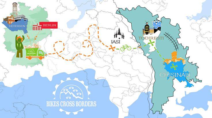 Bike Cross-Borders event