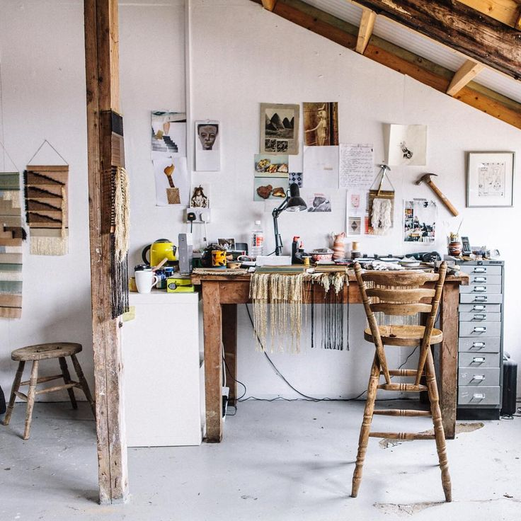 An insight into the work studio of designer Justine Ashbee @nativeline. #fvonf