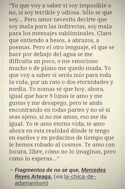 Yo que voy a saber... #love #quotes