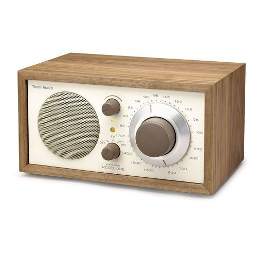 Tivoli Audio. I purchased this sweet little radio for my father over a decade ago.  Easy to use with clear sound.