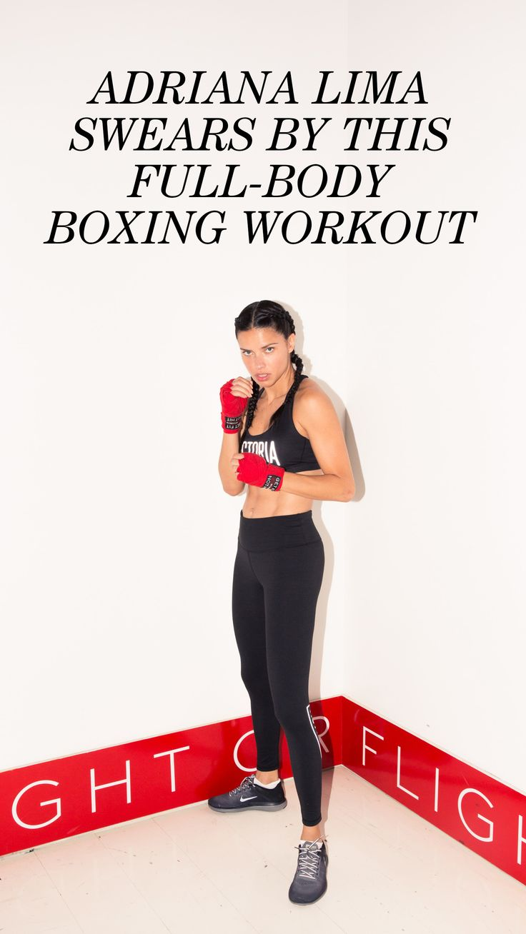 Adriana Lima Swears By This Full-Body Boxing Workout: It's how she gets *that* Victoria's Secret Angel body, which is why we strapped on our boxing gloves to join her in the ring for her all-time favorite way to get her sweat on (and get those ridiculous abs), by boxing at Aerospace with her trainer, Michael Olajide, Jr., and see what it really takes to be a longtime VS model. The answer: Work, guys. Work. | coveteur.com