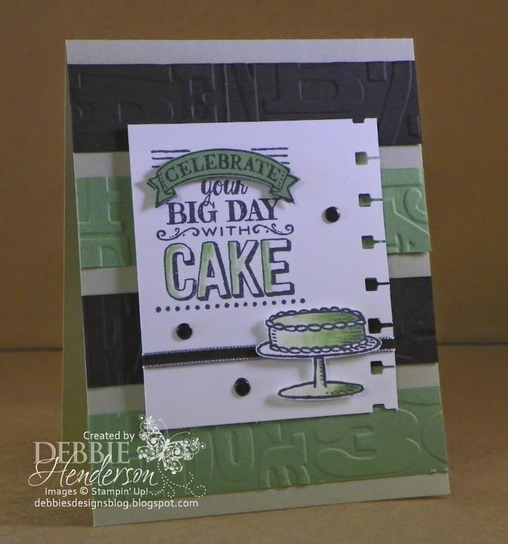 Create with Connie & Mary Challenge #346. Stampin' Up! Big Day. Debbie Henderson, Debbie's Designs.
