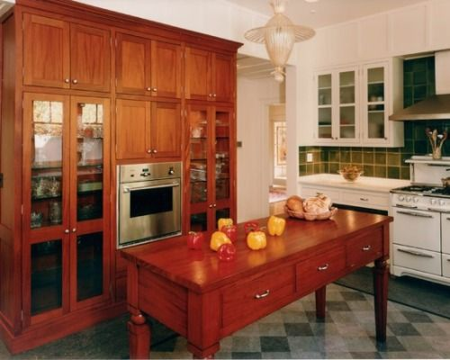 Arts Crafts Kitchen   Mediterranean   Kitchen   San Francisco   Mueller  Nicholls Cabinets And Construction