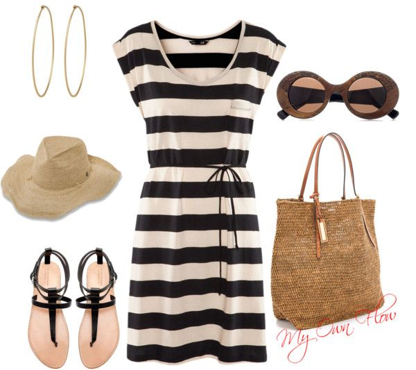 """INCOGNITO AT THE SHORE"" by myownflow on Polyvore"