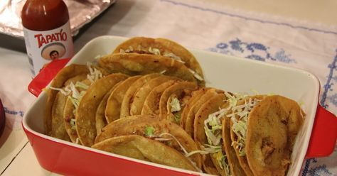Recipe Club: Jack in the Box's Tacos (Menu Madness- Year Six: Volume 12; March, 2016)