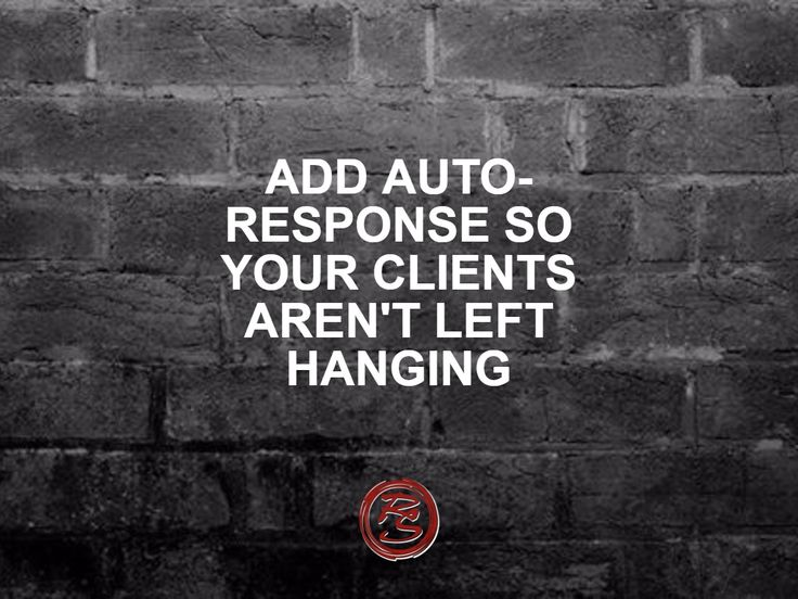 Add an auto-response on Facebook so your clients know their message has been received – then reply as soon as you can after that. Responding to all messages and doing it quickly will activate a great badge on your profile.    #RockSocial #RockSM #SMM #Facebook #AutoResponse #AutoReply