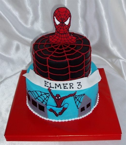 Pictures Spiderman Cakes