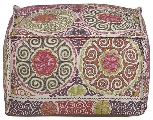 Marrakesh Pouf eclectic ottomans and cubes
