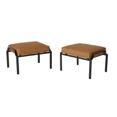 #replacementparts #followme The #Hampton Bay Oak Heights Patio Ottomans were inspired by indoor furniture to embrace that cozy element outside in your entertainm...