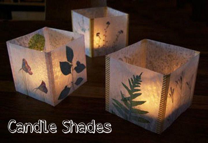 DIY Tutorial: Luminaria – Candle Shades