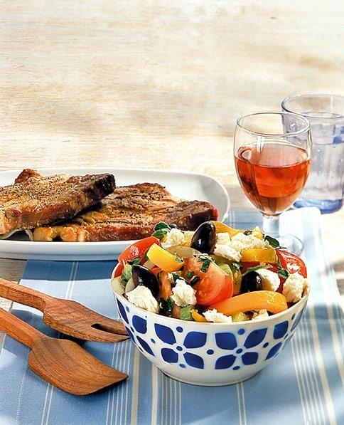 Griechischer Bauernsalat Rezept - [ESSEN UND TRINKEN]