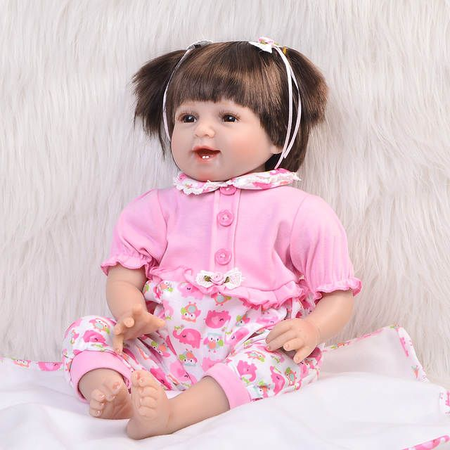 Online Shop 22 pollice 55 cm Bebes Reborn Baby silicone vinile