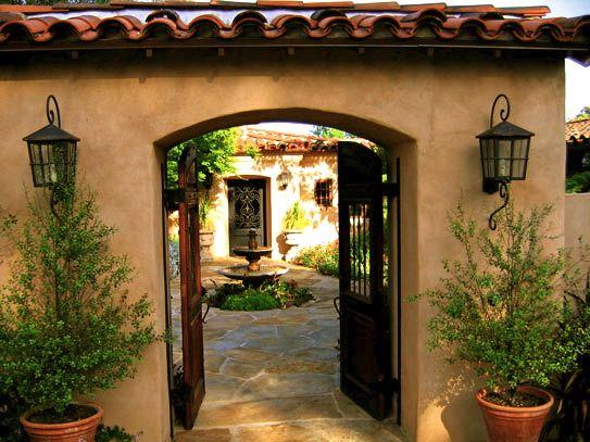 567 best southwest decor images on pinterest haciendas for Hacienda home builders
