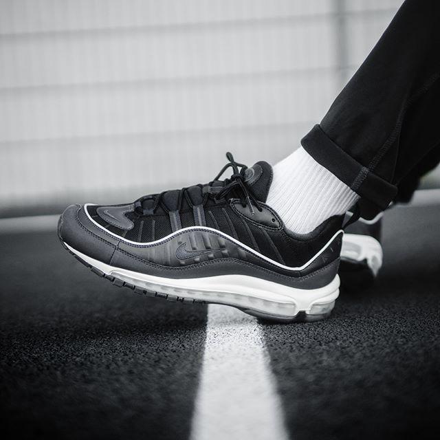Kaufen Neue Günstig Günstig Nike Air Max 98 Grau Schwarz