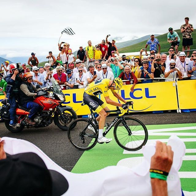Chris Froome Stage 12 TDF2017 credit ashleygruber