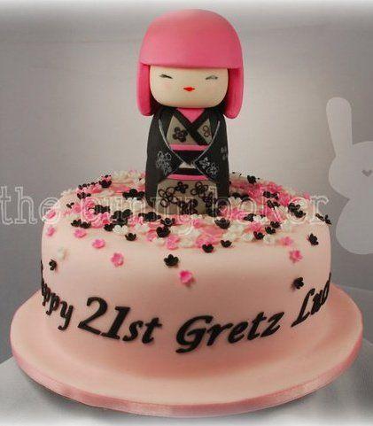 ... cake kimmi doll anime cake original cakes cake studio forward anime