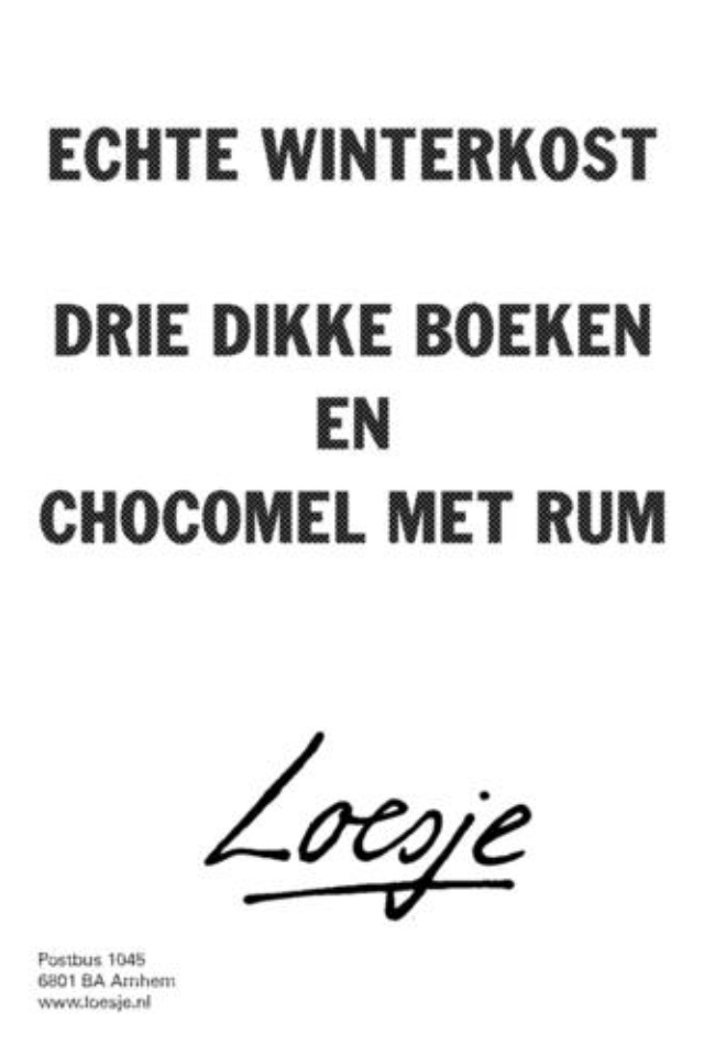Loesje's wisdom
