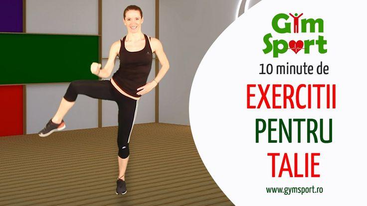 Exercitii pentru talie - video 10 minute