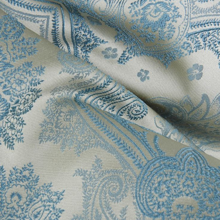 Traditional Blue Flower Energy Saving Curtain  #floral #curtains #homedecor #interiordesign