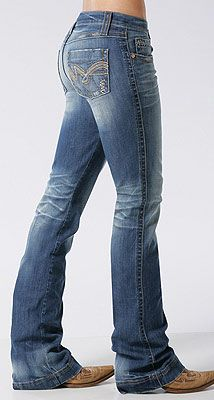This is an example of foreground shapes because it is added to the top of the jeans.