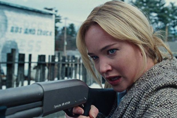 'Joy' Trailer: Jennifer Lawrence's got a gun and she's ready to attack the screens again this December.