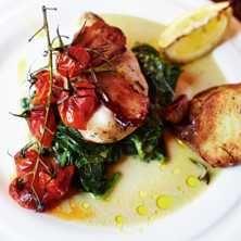 Ugnsbakad kyckling - Ur Middag på 30 minuter av Jamie Oliver