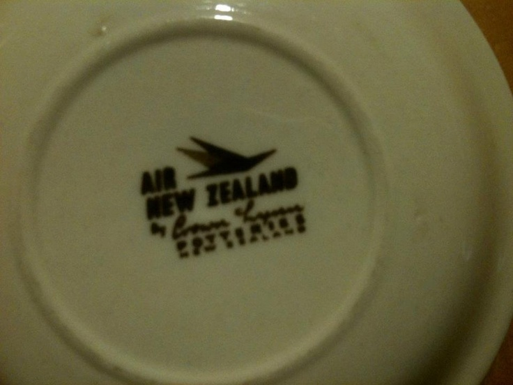 Air New Zealand Plate