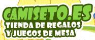 Codigos descuento Camiseto.    Camiseto es una tienda online que ofrece regalos muy originales y tiene una colección de artículos muy curiosos y divertidos. Es una tienda que se caracteriza por sus regalos con mucha imaginación normalmente de temáticas como la música, el cine, televisión, videojuegos, etc. Camiseto además cuenta con una amplia gama de juegos de mesa muy entretenidos y videojuegos de las videoconsolas mas populares.