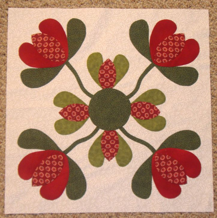 Hankie Quilts Free Pattern | Granny's Hankie January Block done | Justquiltin with Denise Russart