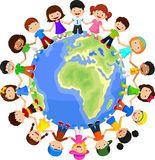 Desenhos Animados Multiculturais Das Crianças Na Terra Do Planeta - Baixe conteúdos de Alta Qualidade entre mais de 56 Milhões de Fotos de Stock, Imagens e Vectores. Registe-se GRATUITAMENTE hoje. Imagem: 49366347