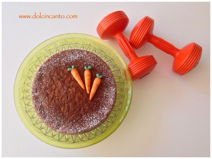 Protein Carrot Cake con farina d'avena