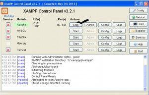cara install xampp (localhost)   Nimbuzz