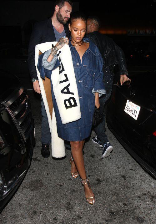 Rihanna style mode Balenciaga par Demna Gvasalia