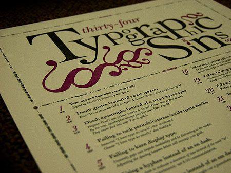 Typographic Sins: Office, Digital Cameras, Godfrey Design