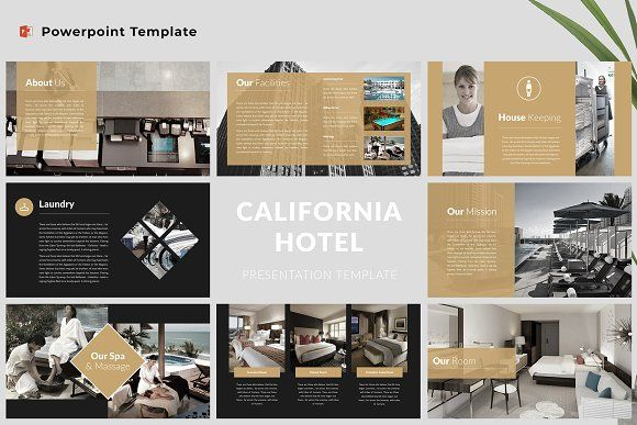 Hotel Powerpoint Template Powerpoint Templates Powerpoint Presentation Design Template