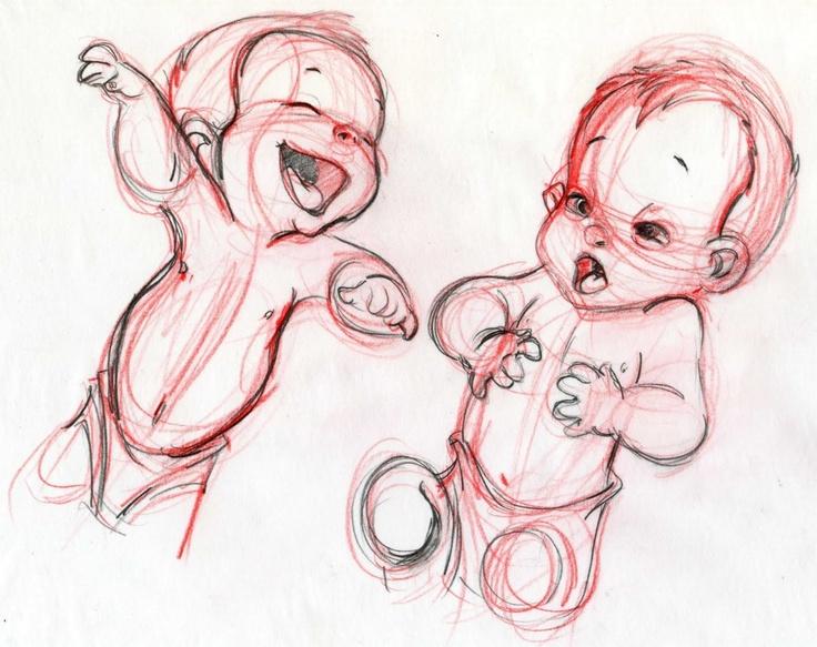 Little baby #Tarzan conceptual design 1, by #Disney
