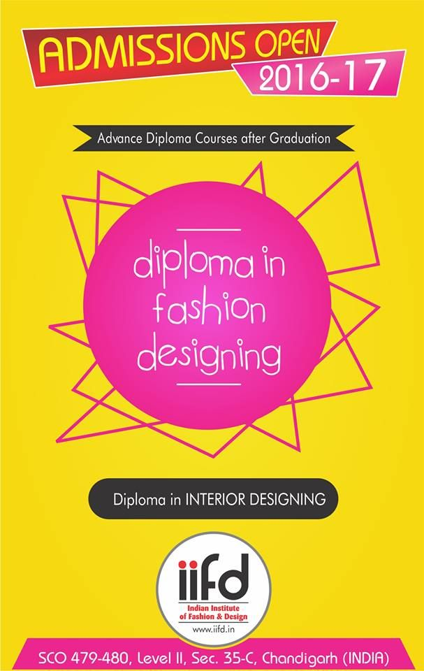 Advance Diploma In Fashion Interior Designing Admission Open Fill Online Application