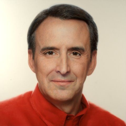 GOVERNOR TIM PAWLENTY - oil on canvas - 48 x 48 in.