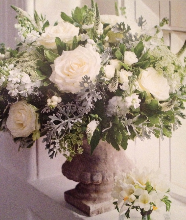 143 best altar flower arrangements images on pinterest for Flower sprays for weddings