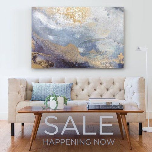 """SALE TODAY - Use code TB7VDZF to SAVE 15% on Canvas Prints! Featured here is new work """"Siren's Call"""" now available."""