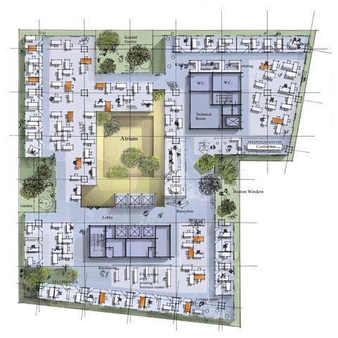 Behnisch Architekten Grundriss Amp Plangrafik In 2019