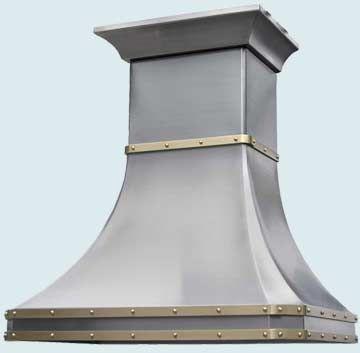 Custom Stainless Range Hood #2482 | Handcrafted Metal Inc